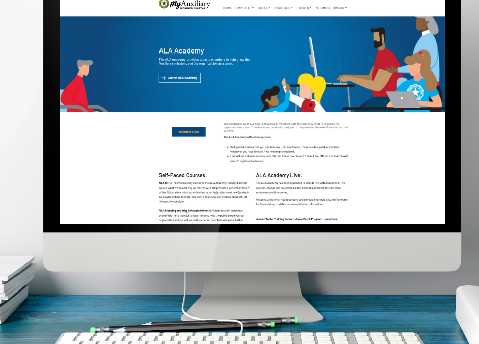 ALA Academy – New Look